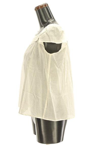 Te chichi(テチチ)の古着「スカラップ衿レースブラウス(カットソー・プルオーバー)」大画像3へ