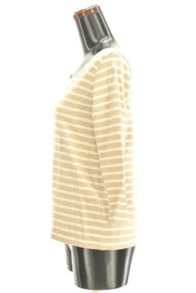 Te chichi(テチチ)の古着「七分袖ボーダーカットソー(ニット)」大画像3へ