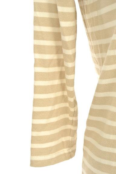 Te chichi(テチチ)の古着「七分袖ボーダーカットソー(ニット)」大画像5へ
