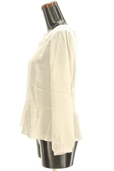 Te chichi(テチチ)の古着「レース襟ペプラムブラウス(カットソー・プルオーバー)」大画像3へ