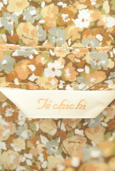 Te chichi(テチチ)の古着「小花柄フロントフリルカットソー(カットソー・プルオーバー)」大画像6へ