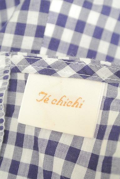 Te chichi(テチチ)の古着「袖リボンチェック柄プルオーバー(カットソー・プルオーバー)」大画像6へ