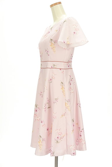 LAISSE PASSE(レッセパッセ)の古着「ミモレ丈花柄ワンピース(ワンピース・チュニック)」大画像3へ
