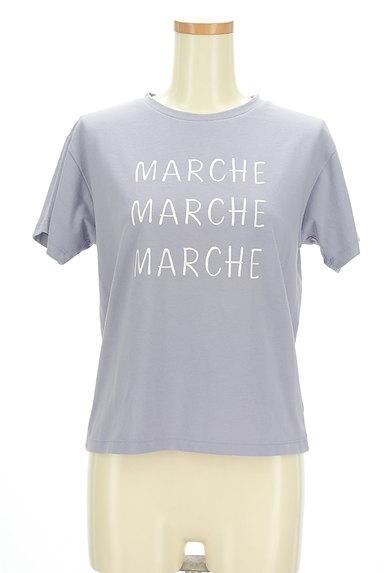 earth music&ecology(アースミュージック&エコロジー)の古着「ロゴTシャツ(Tシャツ)」大画像1へ