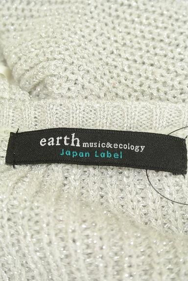 earth music&ecology(アースミュージック&エコロジー)の古着「ガーリーラメニット(ニット)」大画像6へ
