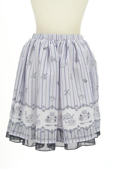 axes femme(アクシーズファム)の古着「ミディ丈ロマンティックフレアスカート(スカート)」大画像2へ