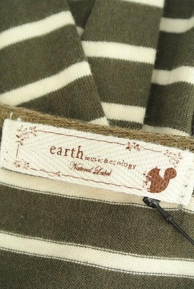 earth music&ecology(アースミュージック&エコロジー)の古着「ベーシックボーダーカットソー(ニット)」大画像6へ