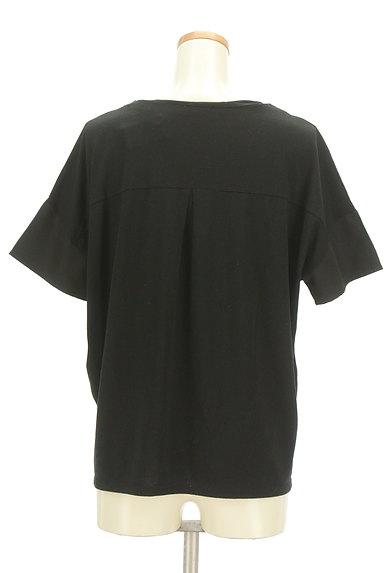 OZOC(オゾック)の古着「刺繍半袖カットソー(カットソー・プルオーバー)」大画像2へ