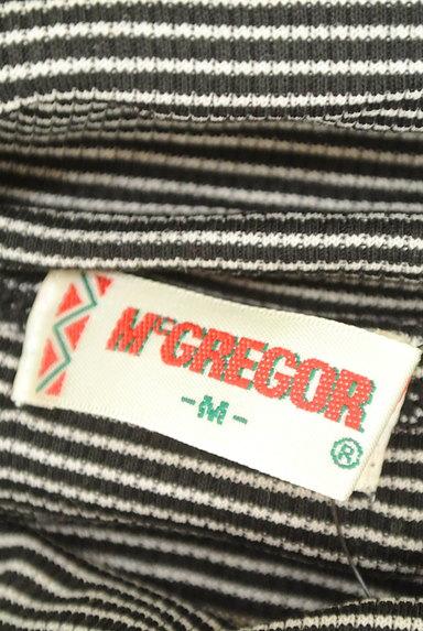 McGREGOR(マックレガー)の古着「フリルタートルボーダーニット(ニット)」大画像6へ