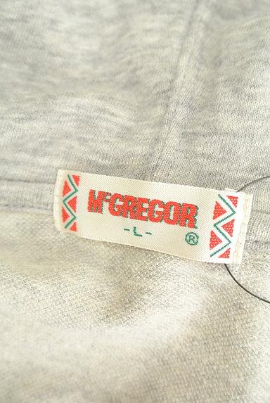 McGREGOR(マックレガー)の古着「七分袖ジップスウェットパーカー(スウェット・パーカー)」大画像6へ