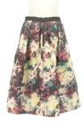 NATURAL BEAUTY(ナチュラルビューティ)の古着「スカート」後ろ