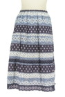 CARA O CRUZ(キャラオクルス)の古着「スカート」後ろ
