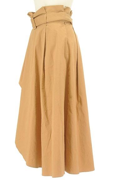 LagunaMoon(ラグナムーン)の古着「内側プリーツアシメロングスカート(ロングスカート・マキシスカート)」大画像3へ