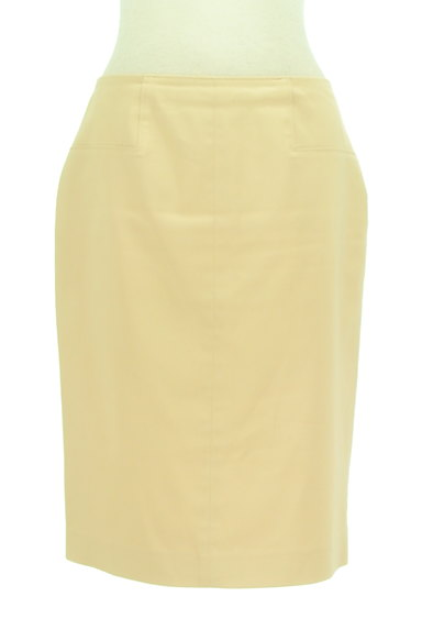 MICHEL KLEIN(ミッシェルクラン)の古着「膝丈シンプルタイトスカート(スカート)」大画像1へ