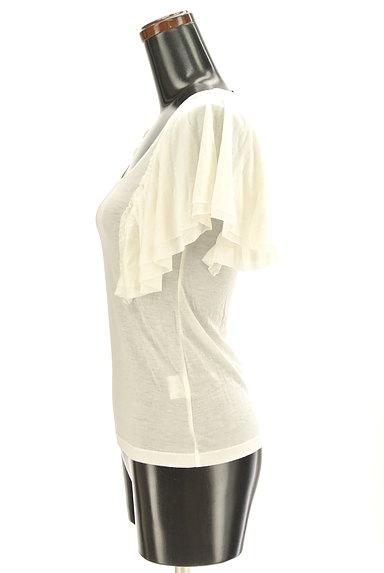 ef-de(エフデ)の古着「袖フリルカットソー(カットソー・プルオーバー)」大画像3へ