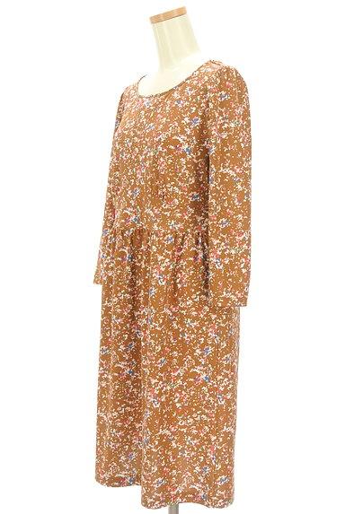 LAPIS LUCE(ラピスルーチェ)の古着「小花柄フレアワンピース(ワンピース・チュニック)」大画像3へ