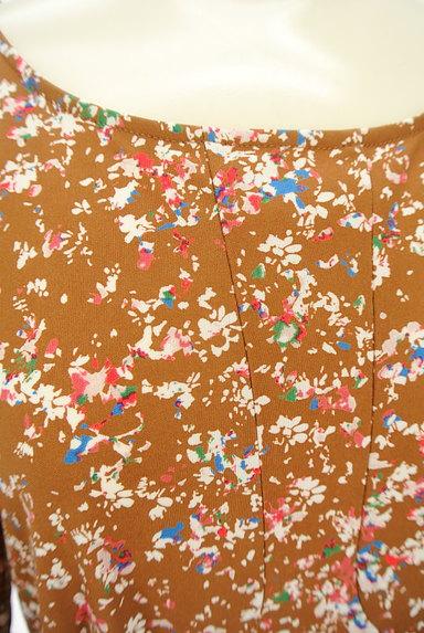 LAPIS LUCE(ラピスルーチェ)の古着「小花柄フレアワンピース(ワンピース・チュニック)」大画像4へ