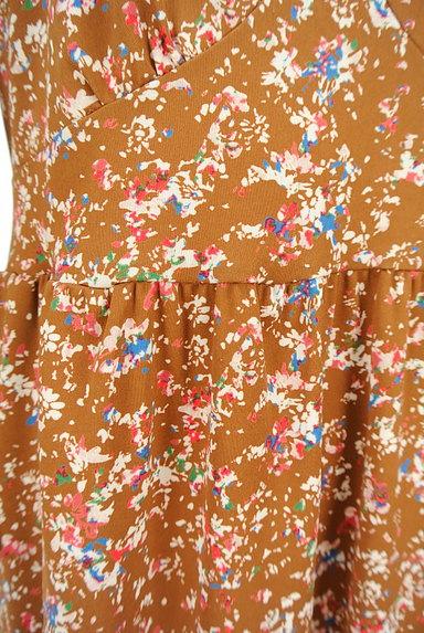 LAPIS LUCE(ラピスルーチェ)の古着「小花柄フレアワンピース(ワンピース・チュニック)」大画像5へ