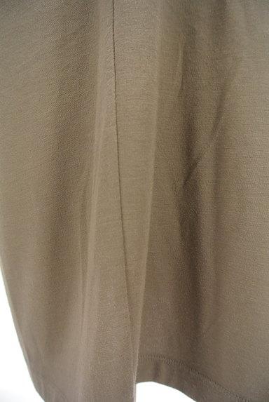 LAPIS LUCE(ラピスルーチェ)の古着「シンプル膝下丈カットソーワンピ(ワンピース・チュニック)」大画像5へ