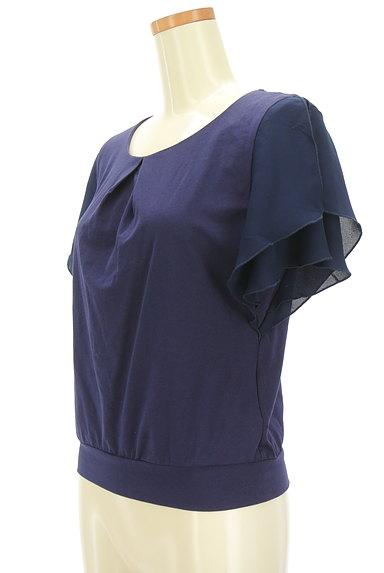 COUP DE CHANCE(クードシャンス)の古着「袖シフォンカットソー(カットソー・プルオーバー)」大画像3へ