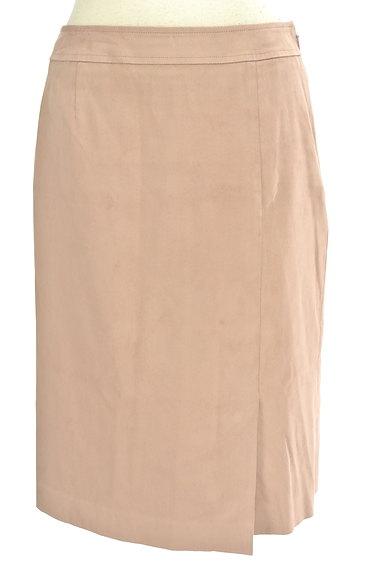 COUP DE CHANCE(クードシャンス)の古着「膝丈スエードタイトスカート(スカート)」大画像1へ