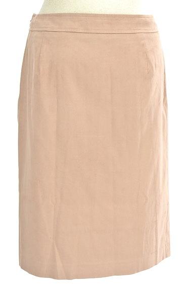 COUP DE CHANCE(クードシャンス)の古着「膝丈スエードタイトスカート(スカート)」大画像2へ