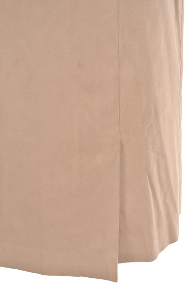 COUP DE CHANCE(クードシャンス)の古着「膝丈スエードタイトスカート(スカート)」大画像5へ