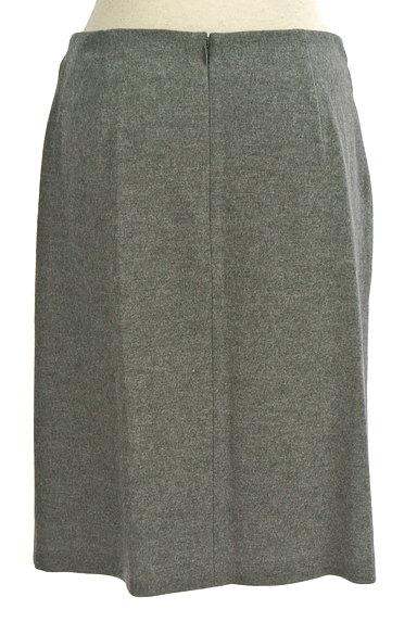 COUP DE CHANCE(クードシャンス)の古着「膝丈ラップ風ウールタイトスカート(スカート)」大画像2へ