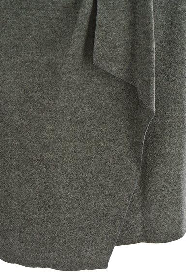 COUP DE CHANCE(クードシャンス)の古着「膝丈ラップ風ウールタイトスカート(スカート)」大画像5へ