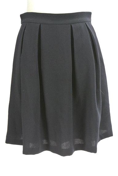MISCH MASCH(ミッシュマッシュ)の古着「膝丈タックフレアスカート(スカート)」大画像1へ