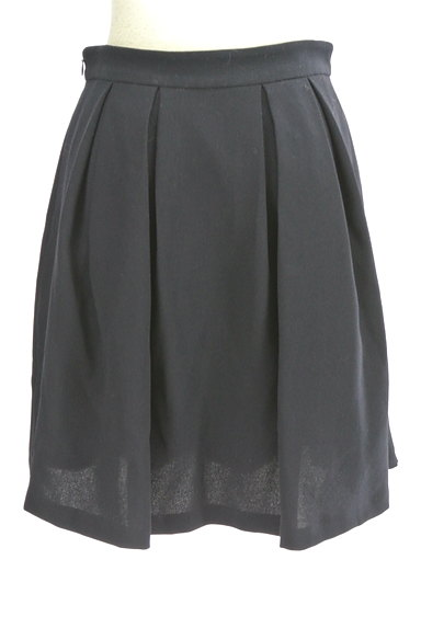 MISCH MASCH(ミッシュマッシュ)の古着「膝丈タックフレアスカート(スカート)」大画像2へ