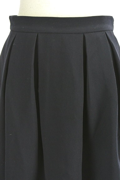 MISCH MASCH(ミッシュマッシュ)の古着「膝丈タックフレアスカート(スカート)」大画像4へ