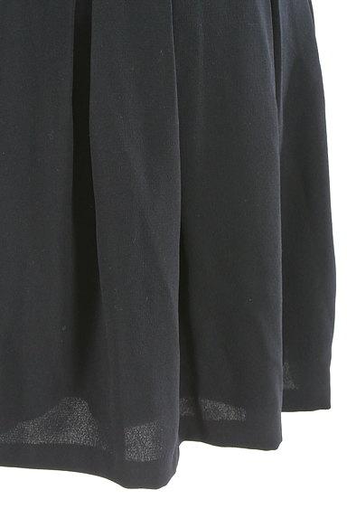 MISCH MASCH(ミッシュマッシュ)の古着「膝丈タックフレアスカート(スカート)」大画像5へ