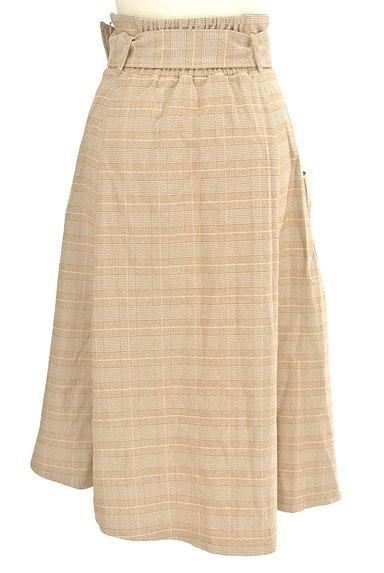 dazzlin(ダズリン)の古着「ラップ風ミモレ丈スカート(ロングスカート・マキシスカート)」大画像2へ
