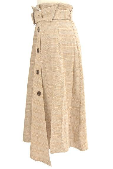 dazzlin(ダズリン)の古着「ラップ風ミモレ丈スカート(ロングスカート・マキシスカート)」大画像3へ