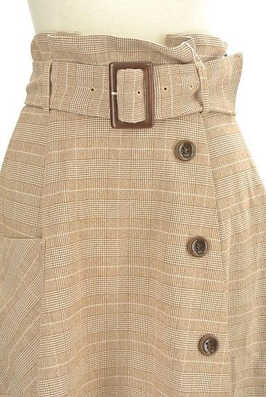 dazzlin(ダズリン)の古着「ラップ風ミモレ丈スカート(ロングスカート・マキシスカート)」大画像4へ