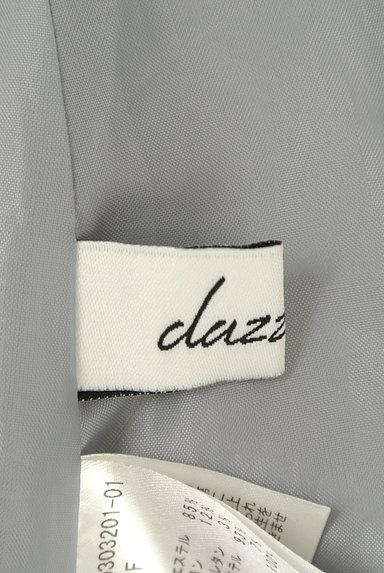 dazzlin(ダズリン)の古着「無地×チェック柄ベルト付きワンピ(キャミワンピース)」大画像6へ
