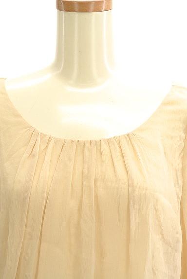 Rouge vif La cle(ルージュヴィフラクレ)の古着「裾レースシフォンブラウス(カットソー・プルオーバー)」大画像4へ