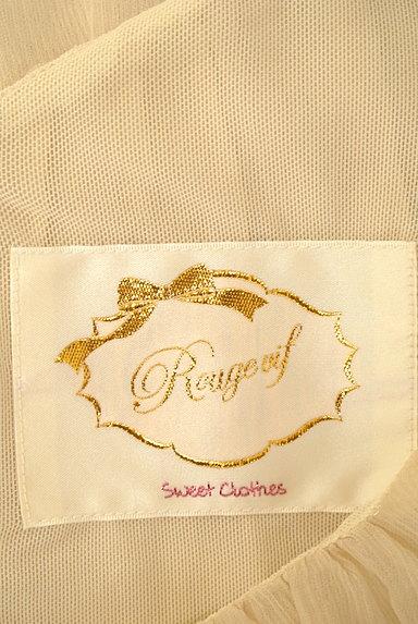 Rouge vif La cle(ルージュヴィフラクレ)の古着「裾レースシフォンブラウス(カットソー・プルオーバー)」大画像6へ