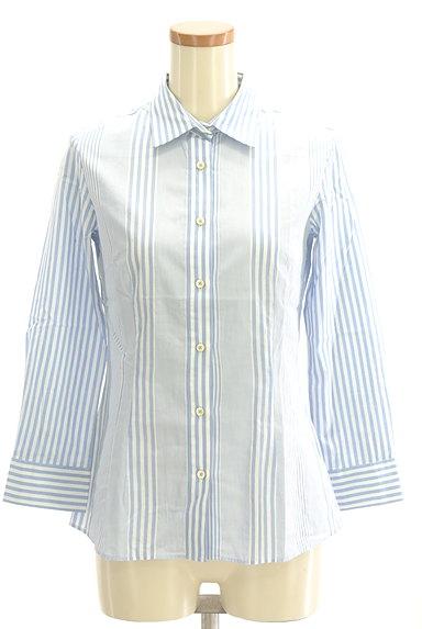 Rouge vif La cle(ルージュヴィフラクレ)の古着「ストライプ柄シャツ(カジュアルシャツ)」大画像1へ