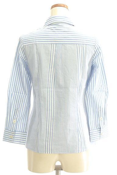 Rouge vif La cle(ルージュヴィフラクレ)の古着「ストライプ柄シャツ(カジュアルシャツ)」大画像2へ