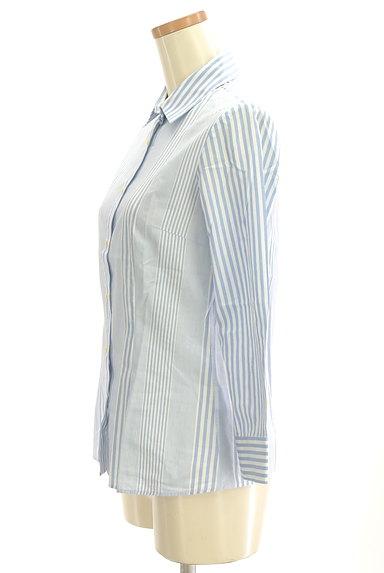 Rouge vif La cle(ルージュヴィフラクレ)の古着「ストライプ柄シャツ(カジュアルシャツ)」大画像3へ