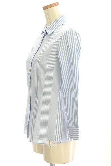 Rouge vif La cle(ルージュヴィフラクレ)の古着「ストライプ柄シャツ(カジュアルシャツ)」大画像4へ