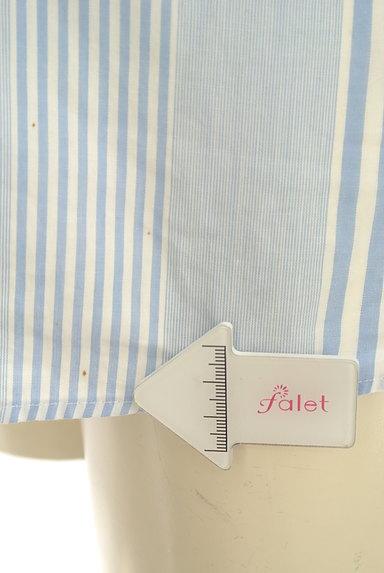 Rouge vif La cle(ルージュヴィフラクレ)の古着「ストライプ柄シャツ(カジュアルシャツ)」大画像5へ
