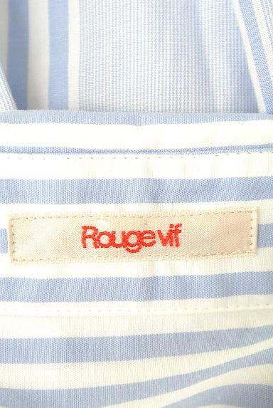 Rouge vif La cle(ルージュヴィフラクレ)の古着「ストライプ柄シャツ(カジュアルシャツ)」大画像6へ