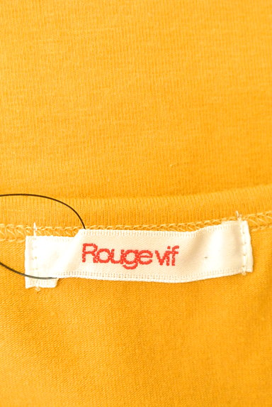 Rouge vif La cle(ルージュヴィフラクレ)の古着「フロント刺繍レースカットソー(カットソー・プルオーバー)」大画像6へ