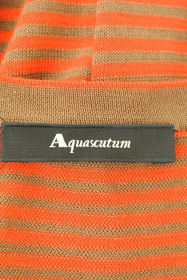 Aquascutum(アクアスキュータム)の古着「ビビットボーダーロングカーデ(カーディガン・ボレロ)」大画像6へ