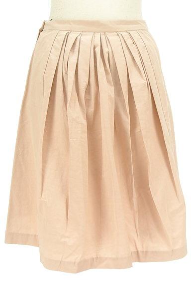 Rouge vif La cle(ルージュヴィフラクレ)の古着「微光沢フレアスカート(スカート)」大画像2へ