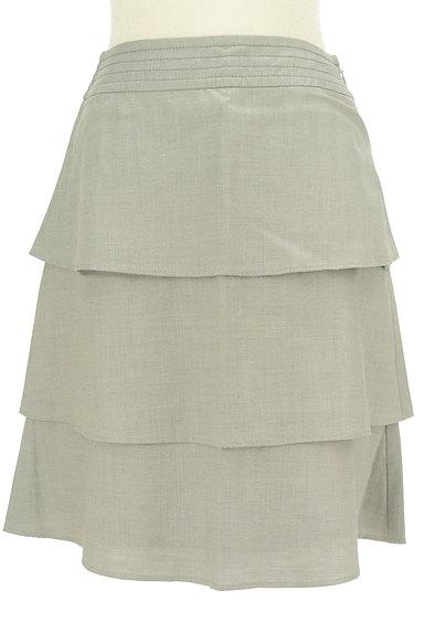 Rouge vif La cle(ルージュヴィフラクレ)の古着「ティアードフリル膝丈スカート(スカート)」大画像1へ