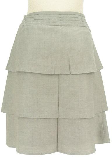 Rouge vif La cle(ルージュヴィフラクレ)の古着「ティアードフリル膝丈スカート(スカート)」大画像2へ